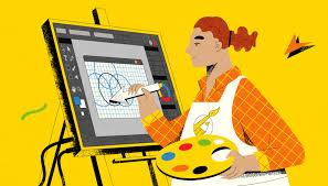 artísta gráfico Illustrator